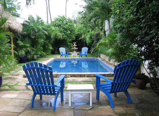 La Posada Azul: The beautiful pool