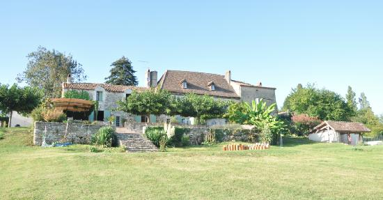 La Bastide des Tremieres: From the front
