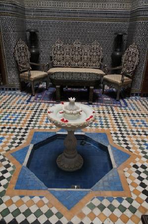 Riad Dar Guennoun: Das Atrium