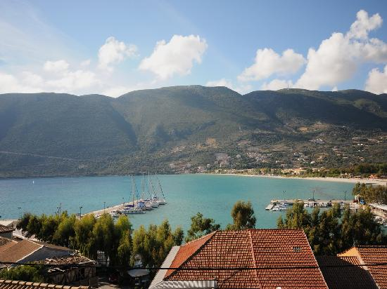 ‪‪Vasiliki Blue‬: View from balcony‬