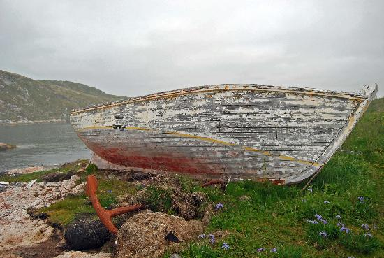 Battle Harbour Heritage Properties: Abandoned Boat