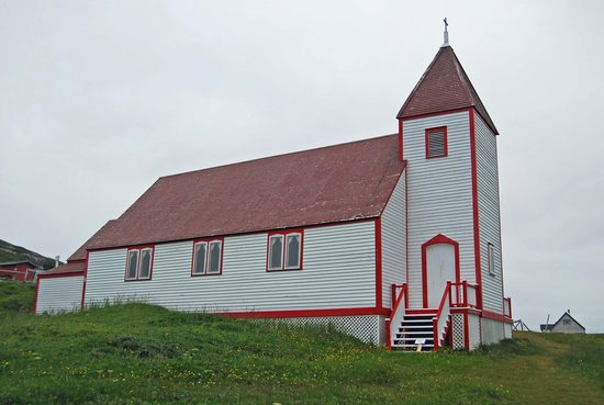 Battle Harbour Heritage Properties: Battle Harbour church