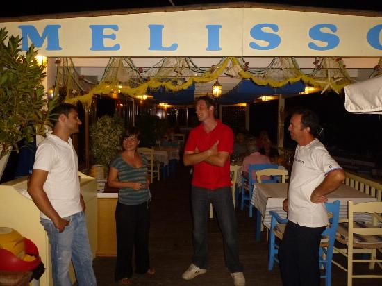 Melissos: Saying our goodbyes..