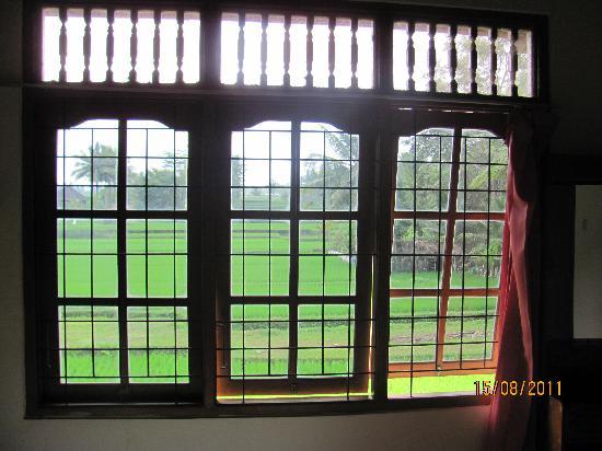 เนรวา โฮมสเตย์: view from window