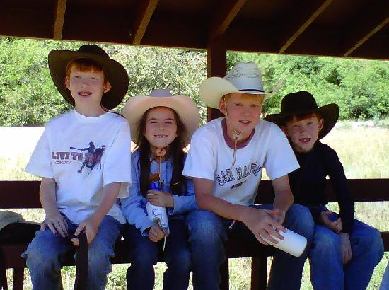 Colorado Trails Ranch: Buckaroos ready to ride!