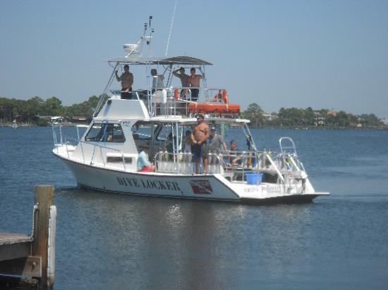 Dive Locker Boat