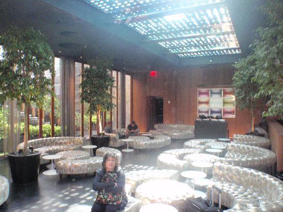 โรงแรมดรีมดาว์นทาว์น: hip, modern lobby