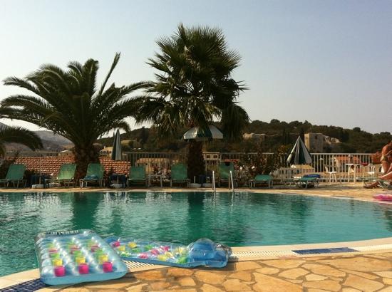 Kassiopi: Pool at Dimas Apts
