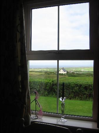 Trildoon House Bed & Breakfast: vue de la salle de petit déjeuner