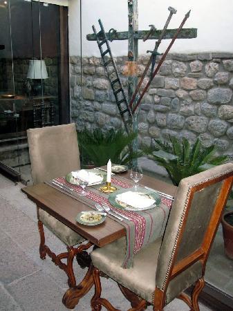 Inkaterra La Casona Relais & Chateaux: la cena en La Casona