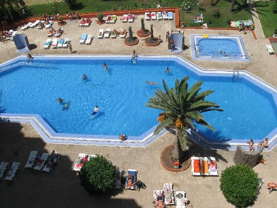 HV Agaete Parque: pool view from room
