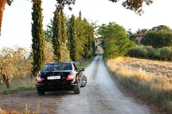 Hotel Borgo Casabianca: Driveway leading into Villa
