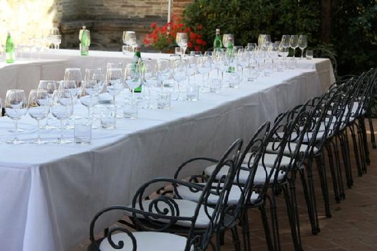 Hotel Borgo Casabianca: Wine Tasting