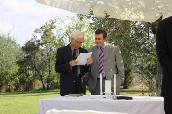 Hotel Borgo Casabianca: Wedding Officiant