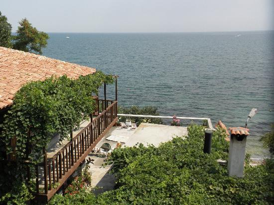 St. Stefan Boutique Hotel  Sunny Beach   BOJ: view from the second floor room
