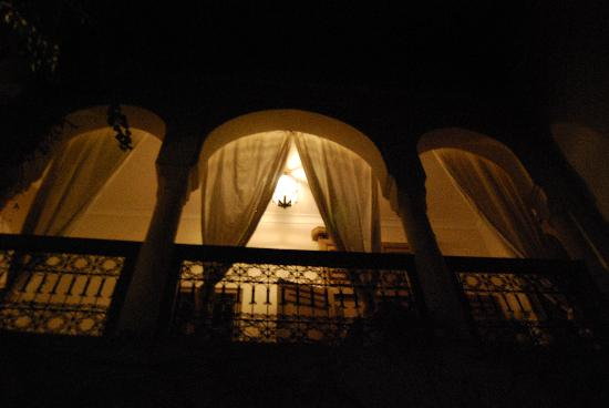 Bab El Moussafir: Couloir by night