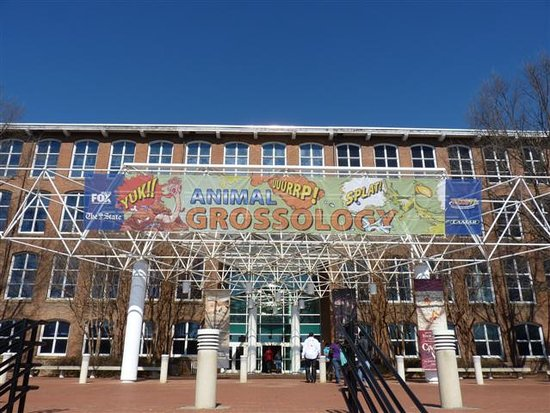 South Carolina State Museum: front of museum