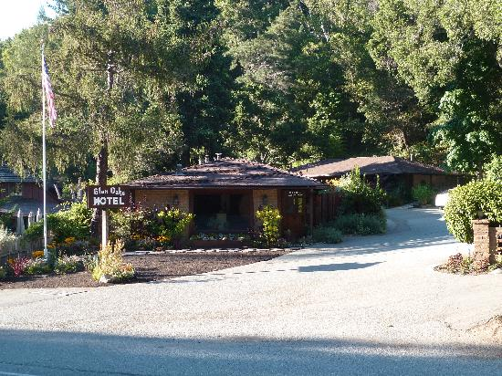 Glen Oaks Big Sur: casetta