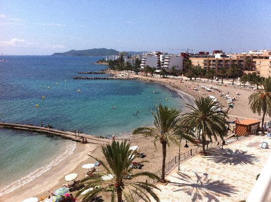 Hotel Ibiza Playa : South view from balcony