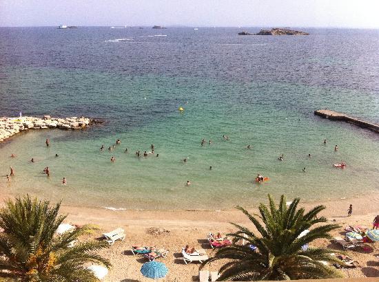 Hotel Ibiza Playa: amazing view