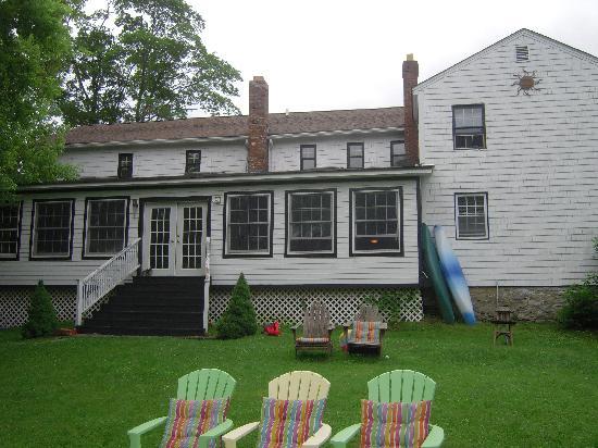 The Hayden Creek Inn: Back of the Inn