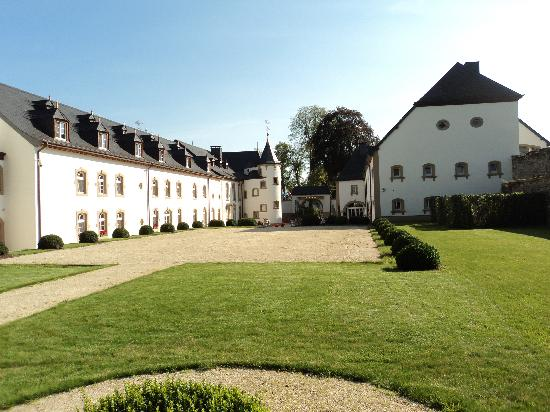 Château d'Urspelt : vue arrière