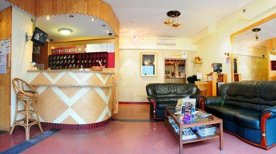 Hotel Chesscom: Lobby