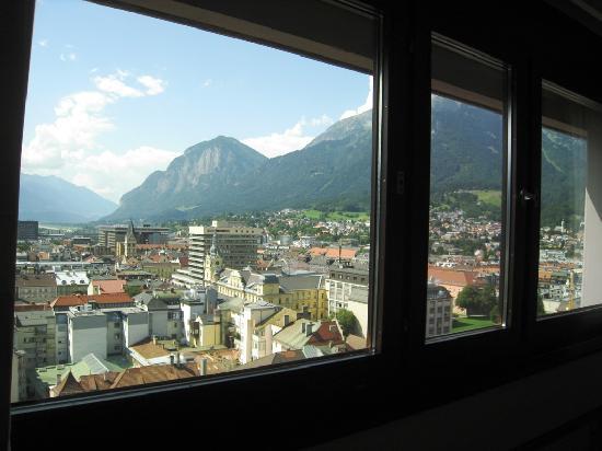 โรงแรม ฮิลตัน อินน์ซบรุค: View from the window