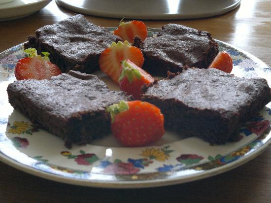 Skeabost, UK: Brownies