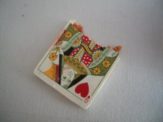 The Fat Duck: The queen of hearts!