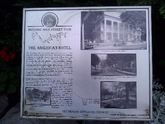 The American Hotel : Historic Information