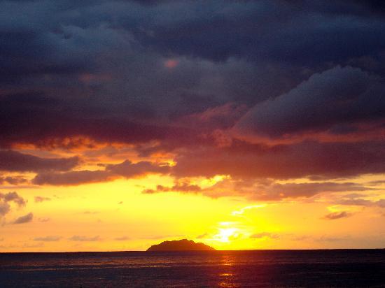 Rincón, Portorico: Sunset in Pueblo Ward Rincon