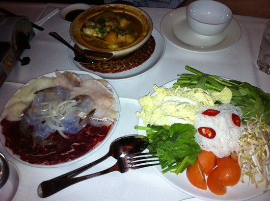 Vietlang: Hot Pot platter