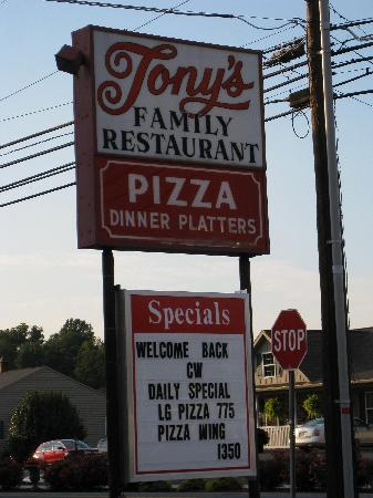 Tony's Family Restaurant: Tony's Restaurant