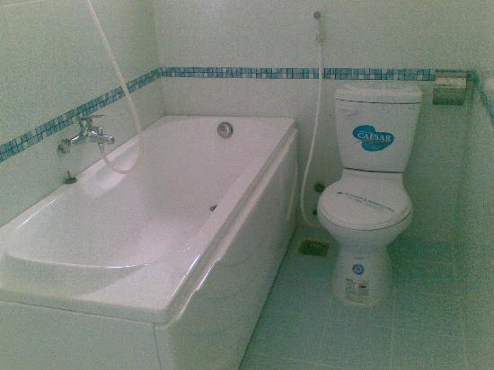 โรงแรม โทรง เกียง: bathroom