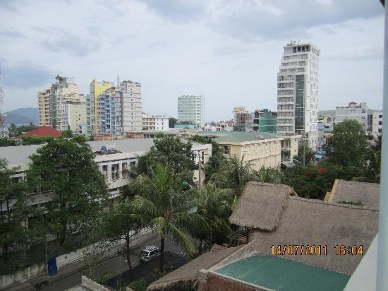 โรงแรม โทรง เกียง: view from the rooftop