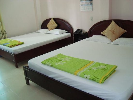 Truong Giang hotel: superior room max 4 persons