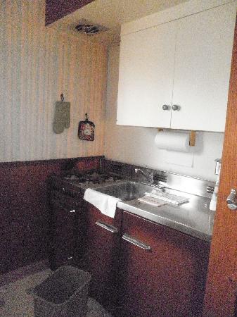 Ranchito Motel: Kitchenette