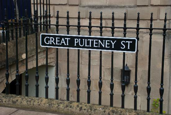 Great Pulteney Street: Street sign