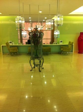 โรงแรมเฟรเซอร์ เพลส กัวลาลัมเปอร์: reception