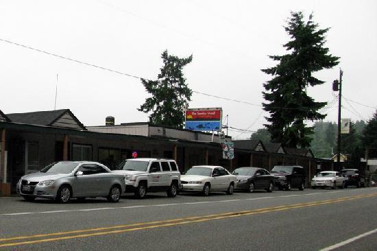 Sunrise Motel: Roadside motel, main building