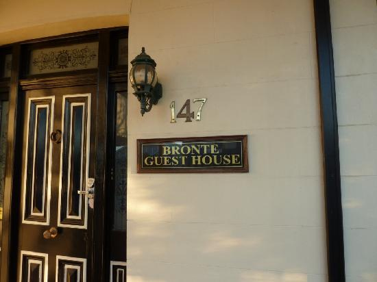 The Bronte Boutique Hotel: front door
