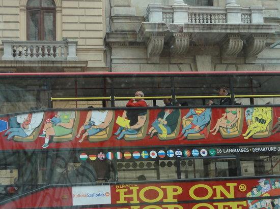 Giraffe Hop On Hop Off City Tour : Tour Bus
