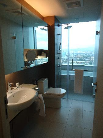 Somerset Ampang Kuala Lumpur: bathroom with view also