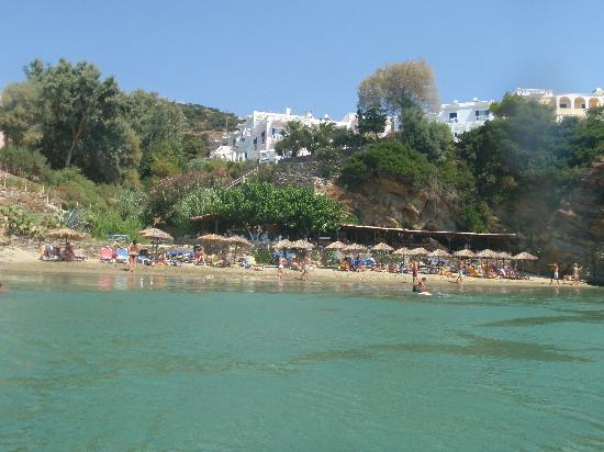 Aneroussa Beach Hotel: The hotel with the beach