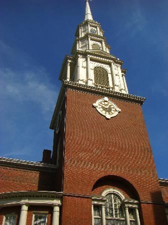 Freedom Trail: Park Street Church - Third stop on Trail