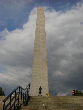 Freedom Trail: Bunker Hill monument - last stop on Trail