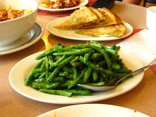 Fried Green Beans with Minced Pork - Foto di Sichuan Gourmet ...