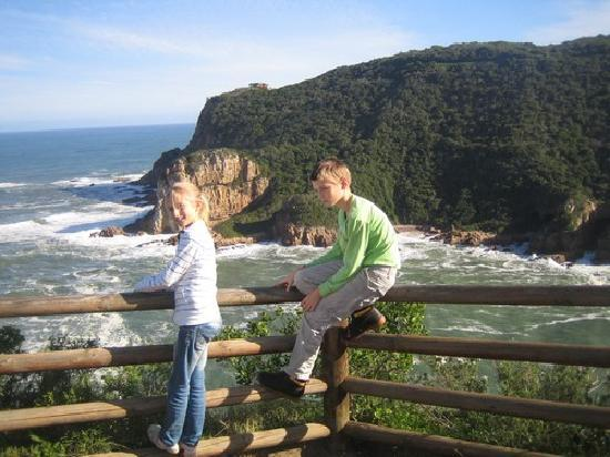 Knysna Country House: View from top of 'The Heads'
