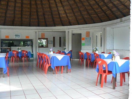 Mirador Maya Restaurant : Interno del ristorante